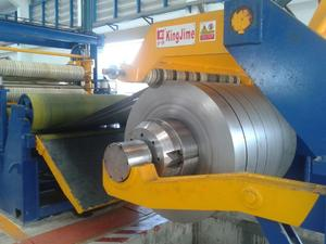 Thin Steel Slitting Line With Belt Tension