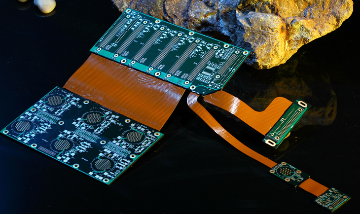 Carte PCB rigide-flexible