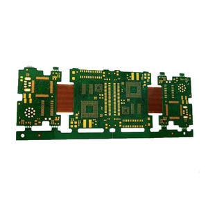 High-technical rigid flex pcb production