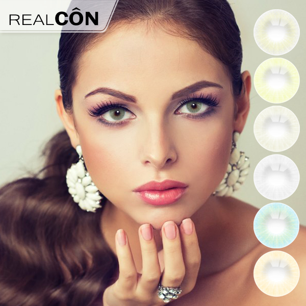 Realcon Eye Color Contact Lenses Aurora Contact Lenses Manufacturer