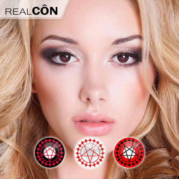 Realcon Natural Color Contact Lenses Halloween Contact Lenses Supplier