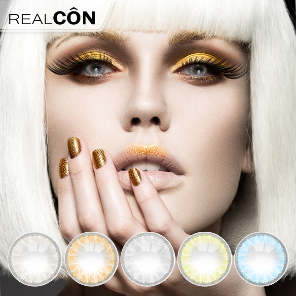 Realcon Wholesale Contact Lens Natural Glass Ball Lenses Supplier