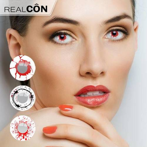 Realcon Magic Contact Eye Lenses Color Cosplay Lens Supplier