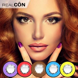 Realcon Cosplay Element Storm Cosmetic Contacts Korea Lens Supplier