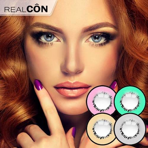 Realcon Cosplay Eye Color Contacts Element Storm Lenses Supplier