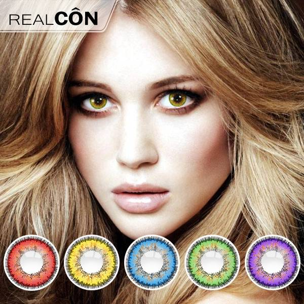 Realcon Korean Contact Lens Wholesale Z-Wei Color Lenses Supplier
