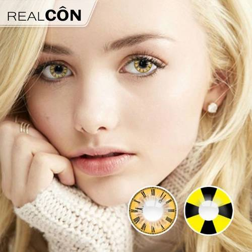 Realcon Contact Lens Soft Vision Clock Cosplay Lenses Supplier