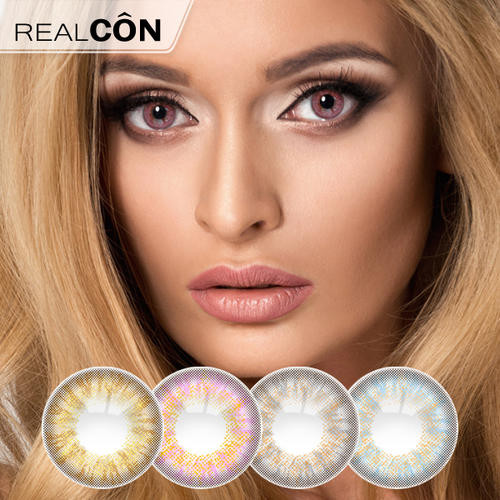 Realcon Wholesale Hami Yearly Cosmetic Contact Lenses Factory