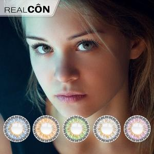 Realcon Wholesale Big Eye Soft Circle Contact Lens Manufacturer