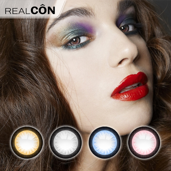 Realcon Wholesale Color Eye Contacts Beautiful Moonlight Lenses Supplier