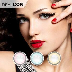 Realcon Wholesale Ice Dew Natural Color Contact Lens Supplier