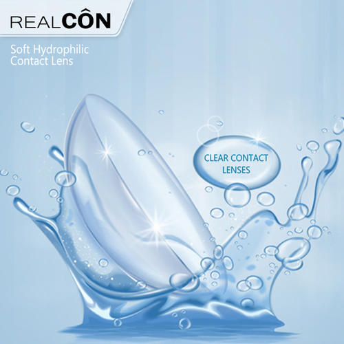 Wholesale contact lens Transparent contact lenses cosmetic crazy contact lenses for eyes