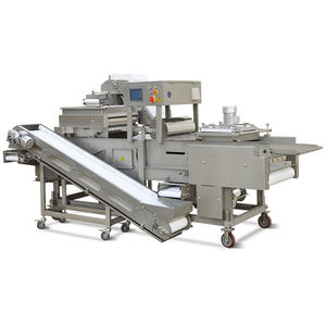 Customized fresh bread crumbs coating machine factory
