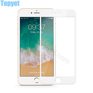 China iPhone 8 tempered glass screen protectors supplier