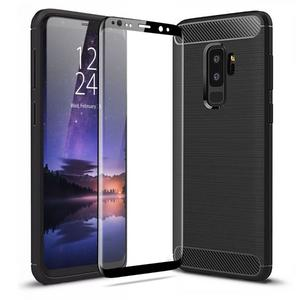 buy Samsung galaxy S9 plus full screen tempered glass protectors
