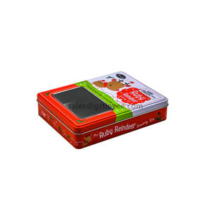 China gift card tin box supplier