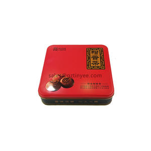China large tea tin gift manufacturer