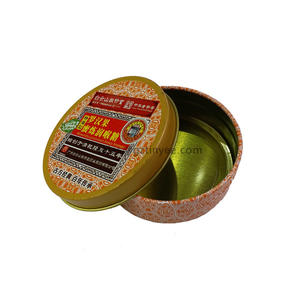 China herbal candy tin box expert