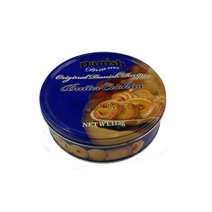 China professional cookie tin box supplier