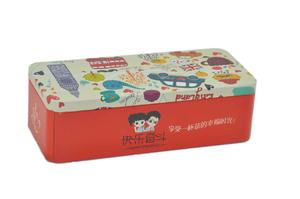 China tea gift tin box supplier
