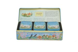 Tea Gift Tin Caddy