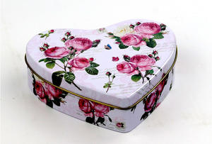 best high quality sweet heart candy tin  seller