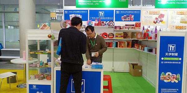 3.4-3.6 Guangzhou PACKINNO2019 exposition, usine professionnelle de boîte de bidon de biscuit et de biscuit