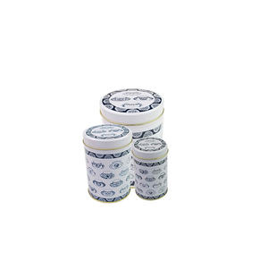 beautiful Chinese tea gift tin set box