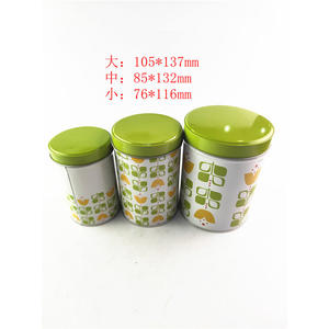 advanced tea gift tin caddy manufacturer