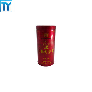 China professional tea tin packaging factory