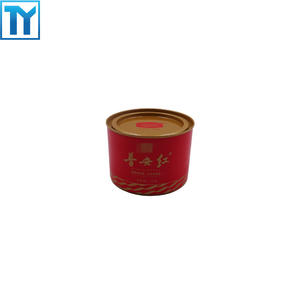 China professional individuation tea tin caddy OEM