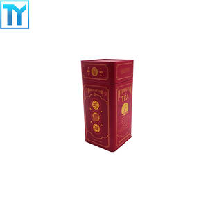 China professional OEM tea tins wholesale  supplier