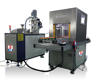 Vacuum Glue Potting Machine With Production Line VGB-450