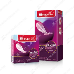 Natural Latex Condom, Smooth Condom, Ultra Thin Condom, Rose Condom
