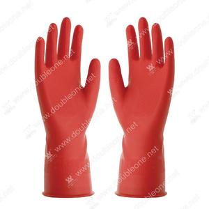 China wholesale Red household latex gloves manufacturers factory