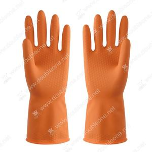 China custom-made Double color industrial gloves manufacturers factory