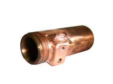 cold forging copper electrical contact tube