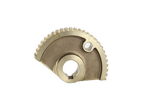 Sector worm wheel is aluminum bronze parts