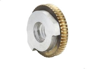 copper & aluminum composite Worm Gear Wheel