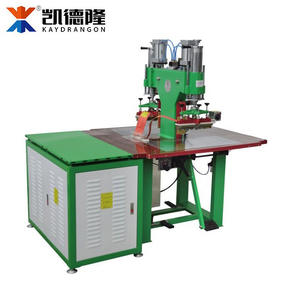 Brand&Name Plate Air High Frequency Oil Pressure Welding Machine Double Head HF Welding Machine