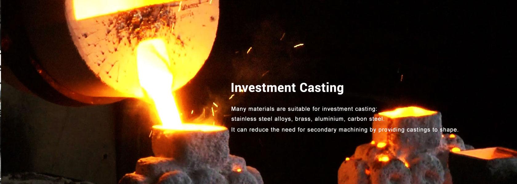 Investment casting, sand casting, gravity casting,die casting