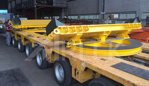 Trailer turntables for modular trailers and semi trailers supplier for sale