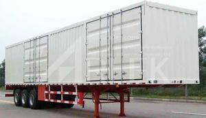 china customized cargo box semi-trailers  for sale supplier price