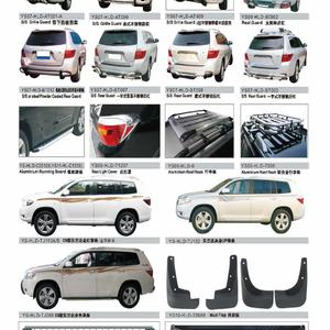 TOYOTA HIGHLANDER AUTO DECORATING PARTS