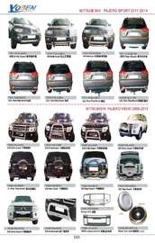 MITSUBISHI PAJERO AUTO DECORATING PARTS