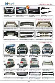 HYUNDAI TUCSON AND KIA SORENTO AUTO DECORATING PARTS