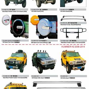 HUMMER AUTO DECORATING PARTS