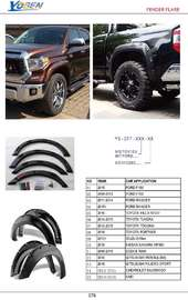 FENDER FLARE AUTO DECORATING PARTS