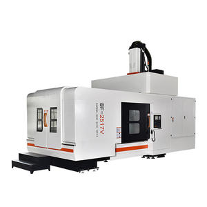 High speed double column vmc machine
