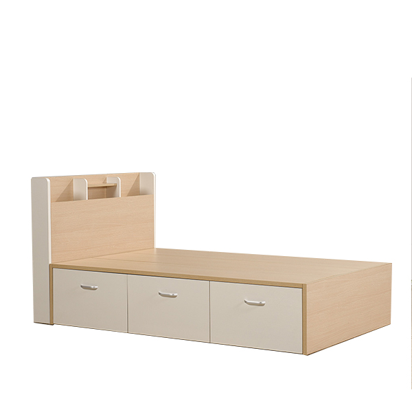 Children Modern Bed Room Furniture Bedroom Set Solid Wood